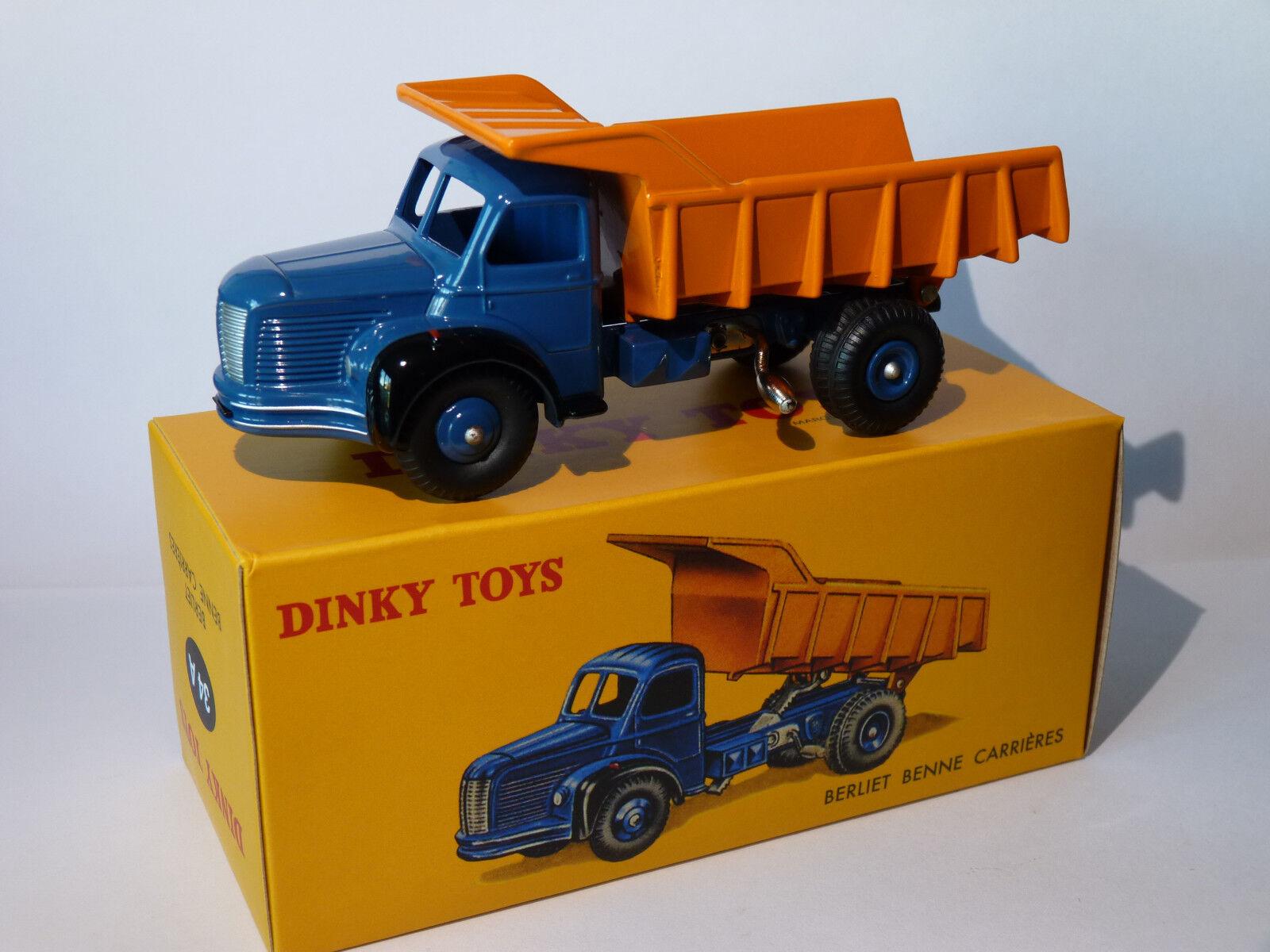 Berliet Tipper Careers - Ref 34A 34 a choose 1 43 Dinky Toys Atlas
