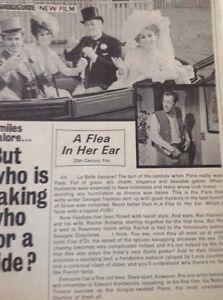 52901-Ephemera-1968-Film-Review-A-Flea-In-Her-Ear-1-Page