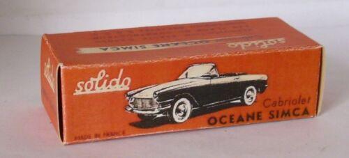 Repro box solido Simca Ocean Cabriolet
