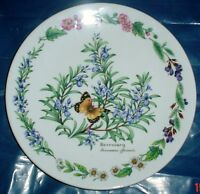 Royal Worcester Collectors Plate ROSEMARY - HERBS BY ROYAL WORCESTER