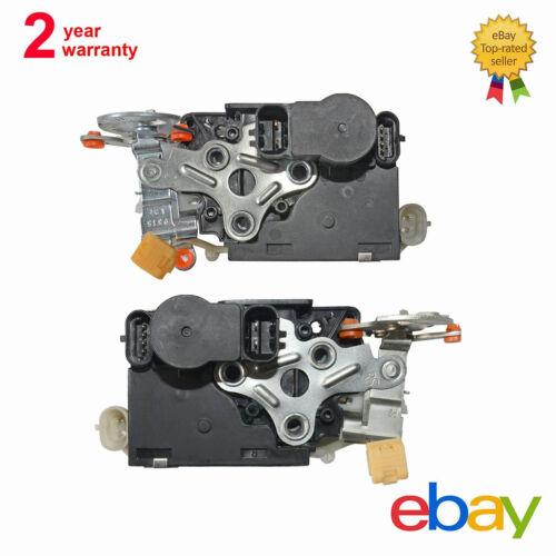 Pair Front Door Lock Actuator 931318 931319 For Escalade Avalanche Sierra