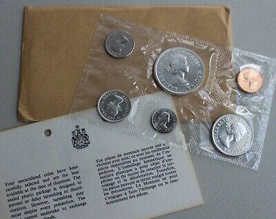 SILVER ***6 COINS*** CANADA  1963 PROOF-LIKE SET