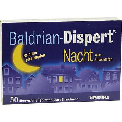 BALDRIAN DISPERT Nacht/Einschl. ueberz. Tabletten 50St PZN: 2859873