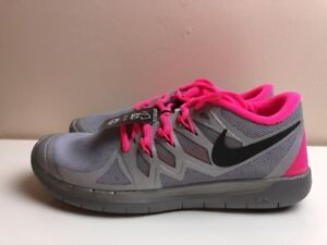 a08a27e03ac97 Nike Free 5.0 Flash Gs Womens Shoes Reflective Silver UK 5.5 EUR ...