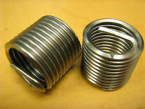 6-32 UNC Helicoil Replacement inserts Pkt of 25