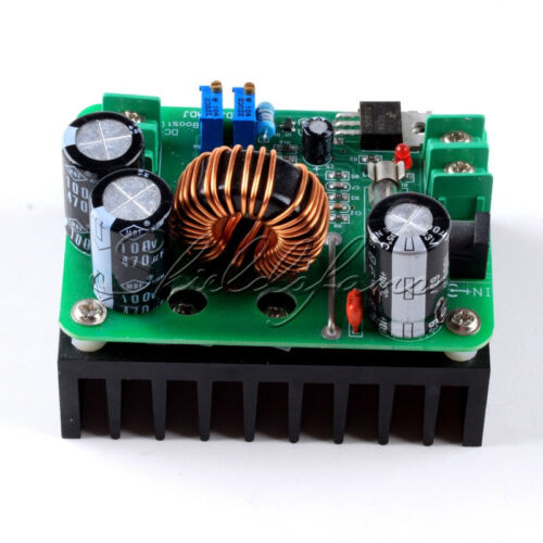 DC 600W 10-60V to 12-80V Boost Converter Step-up Module car Power Supply  P6