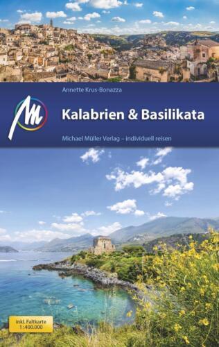 REISEFÜHRER  KALABRIEN /& BASILIKATA 2016//17 MICHAEL MÜLLER VERLAG UNGELESEN