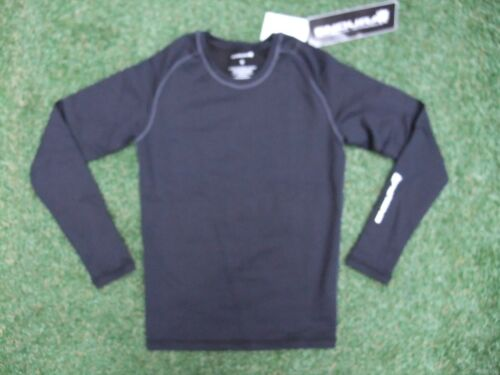 BNWT Mens Black Endura Frontline Long Sleeve Cycling Base Layer RRP 35 Small