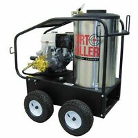 Dirt Killer Professional 3500 Psi (gas-hot Water) Pressure Washer W/ Honda En...