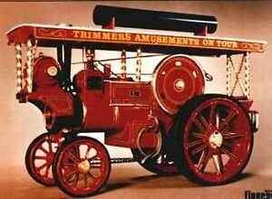 Showman's Traction Engine - scale kit in white metal to assemble and paint