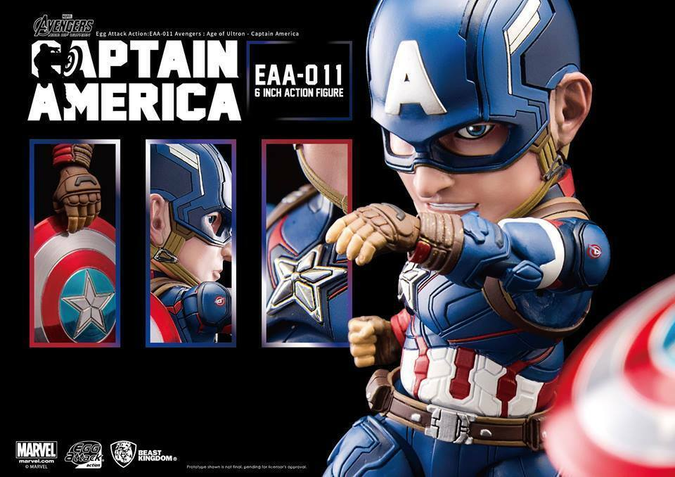 EGG ATTACK EAA-011 AVENGERS AGE OF ULTRON CAPTAIN AMERICA 6  ACTION FIGURE