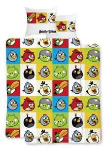 Angry-Birds-Bettwaesche-Kinderbettwaesche-100-Baumwolle-135x200cm-Bettbezug