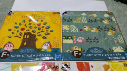 Star/'s Kirby/'s first lottery F prize towel full set F//S JAPAN