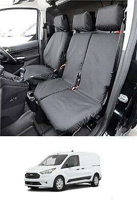 XtremeAuto Custom 2012 Heavy Duty Durable Van Tailor Made Seat Covers Leather Black