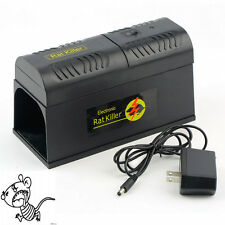 Electronic Mice Rat Killer Rodent Repeller Electric Trap Zapper Pest Control YK