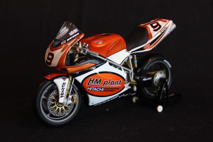 protección post-venta Minichamps HM Plant Ducati 998R F02 2003 1 12    9 Chris Walker (GBR) WSBK  connotación de lujo discreta