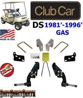 Club Car Ds 1981'-1996' Gas Golf Cart Jake's 6 Spindle Lift Kit 6230