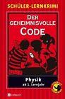 Der geheimnisvolle Code von Nils Reschke (2006, Taschenbuch)
