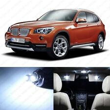 13 x Error Free White LED Interior Light Package For 2013-2014 BMW X1 Series E84