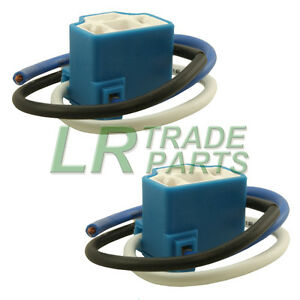 land rover discovery 200 amp 300 tdi headlight wiring connectors image is loading land rover discovery 200 amp 300 tdi headlight