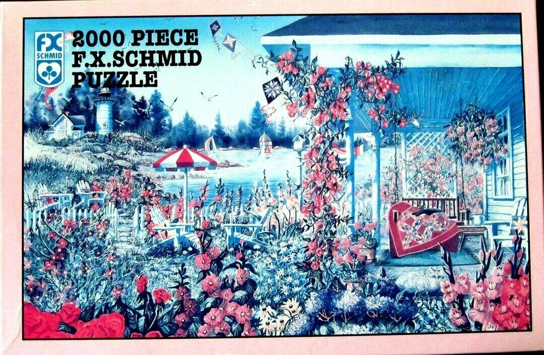 FX Schmid 2000 piece puzzle   SUMMER MEMORIES    by DIANE PHALEN 1997 (36  X 25 )  acquista online oggi