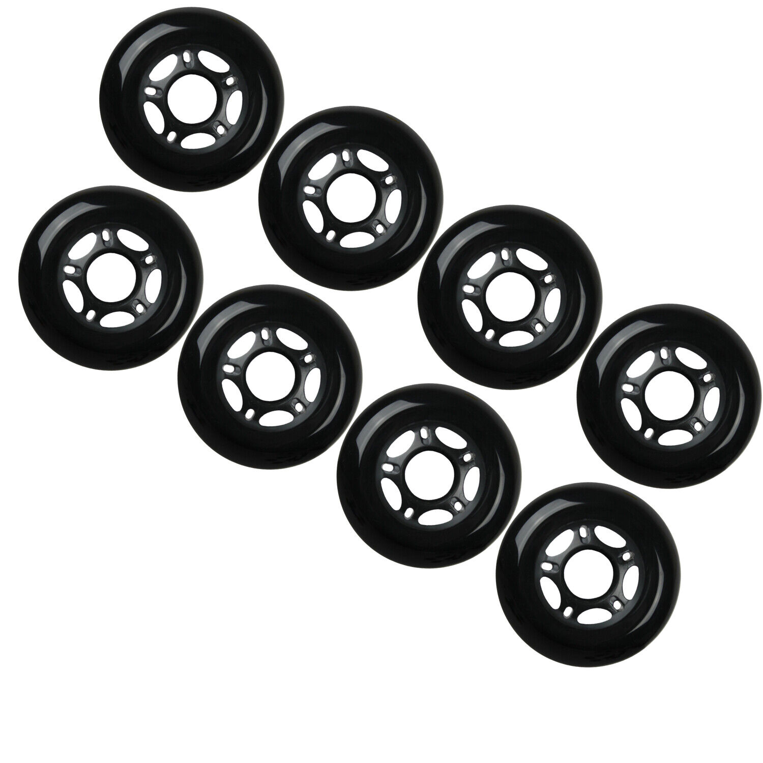 Labeda Wheels Outdoor Hockey Extreme 76MM Hard Set of 8