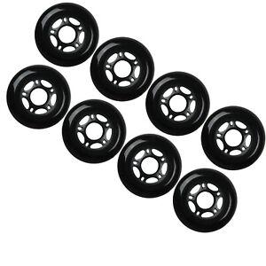 Outdoor-Rollerblade-Inline-Hockey-Fitness-Skate-Wheels-76mm-82A-Set-of-8