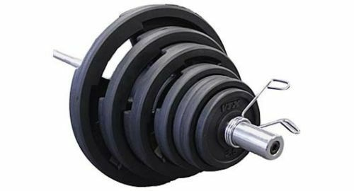 300 lb. Troy  VTX RUBBER Grip Weight Set - Bar - Collars - NEW   GOSS-300VR  authentic quality