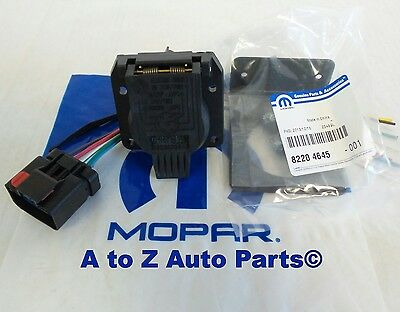 Dodge Ram,Dakota,Durango,Jeep 7 WAY Trailer Tow Wiring Harness ...