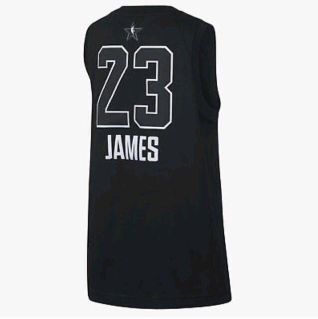 9d456971bd1 Nike Lebron James 2018 All Star Swingman Jersey Youth Size L 9z2b7by3p