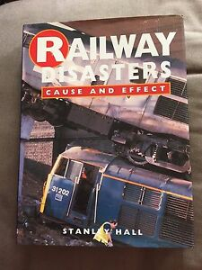 LARGE-HEAVY-034-RAILWAY-DISASTERS-CAUSE-AND-EFFECT-034-ILLUSTRATED-HARDBACK-BOOK