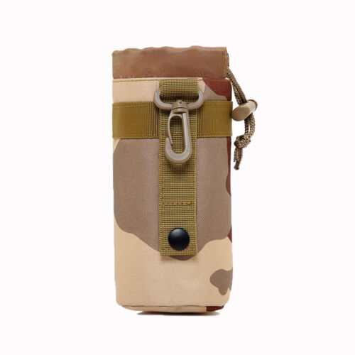 Nylon Cup Outdoor Bag Water Bottle Pouch Cycling Hiking Travel Kettle Bag Holder