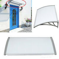 Diy Outdoor Door Window Awning Patio Cover Canopy Resist Sun Rain Snow Shelter