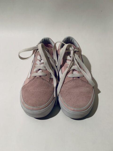Kids Old Skool Chalk Pink Suede/Canvas