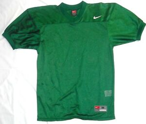Details about College Authentic Blank Football Jersey Youth All Green
