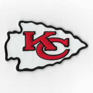 Kansas-City-Chiefs-Iron-on-Patches-Embroidered-Patch-Applique-Badge-Sew-FN