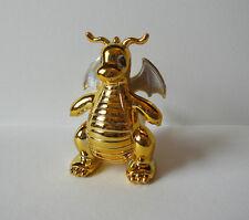 "Pokemon Dragonite 3"" gold metallic action figure toy Japan Dratini"