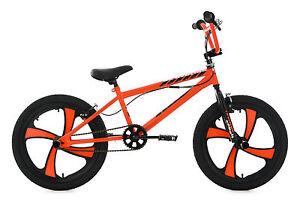 20 bmx bike freestyle kinder fahrrad rad cobalt orange ks. Black Bedroom Furniture Sets. Home Design Ideas
