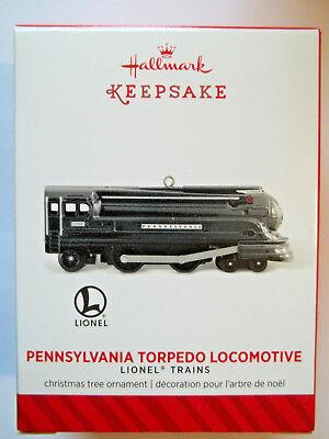 2014 Hallmark Lionel Trains Pennsylvania Torpedo Locomotive
