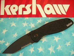 KERSHAW-034-USA-034-BLUR-Tanto-BLACK-PS-spring-assist-A-O-knife-14C28N-k-1670TBLKST