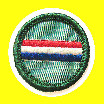 COOK 1960-62 ONLY Intermediate Girl Scout Badge Patch Milk-Bottle NEW Patch