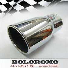 Universal Car Exhaust Tip Muffler Trim Pipe Chrome