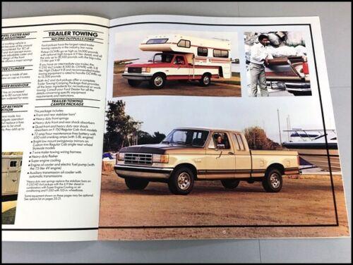 1987 Ford F-Series Pickup Truck 24-page Sales Brochure Catalog F-150 F-250 F-350