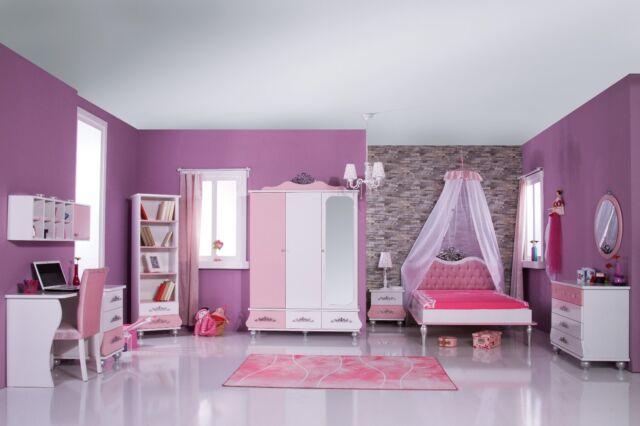 kinderzimmer komplett anastasia 2 rosa - sparset 9 tlg.   ebay, Design ideen