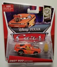Disney Pixar Cars • Snot Rod with Flames • 2013 Tuners Cardback