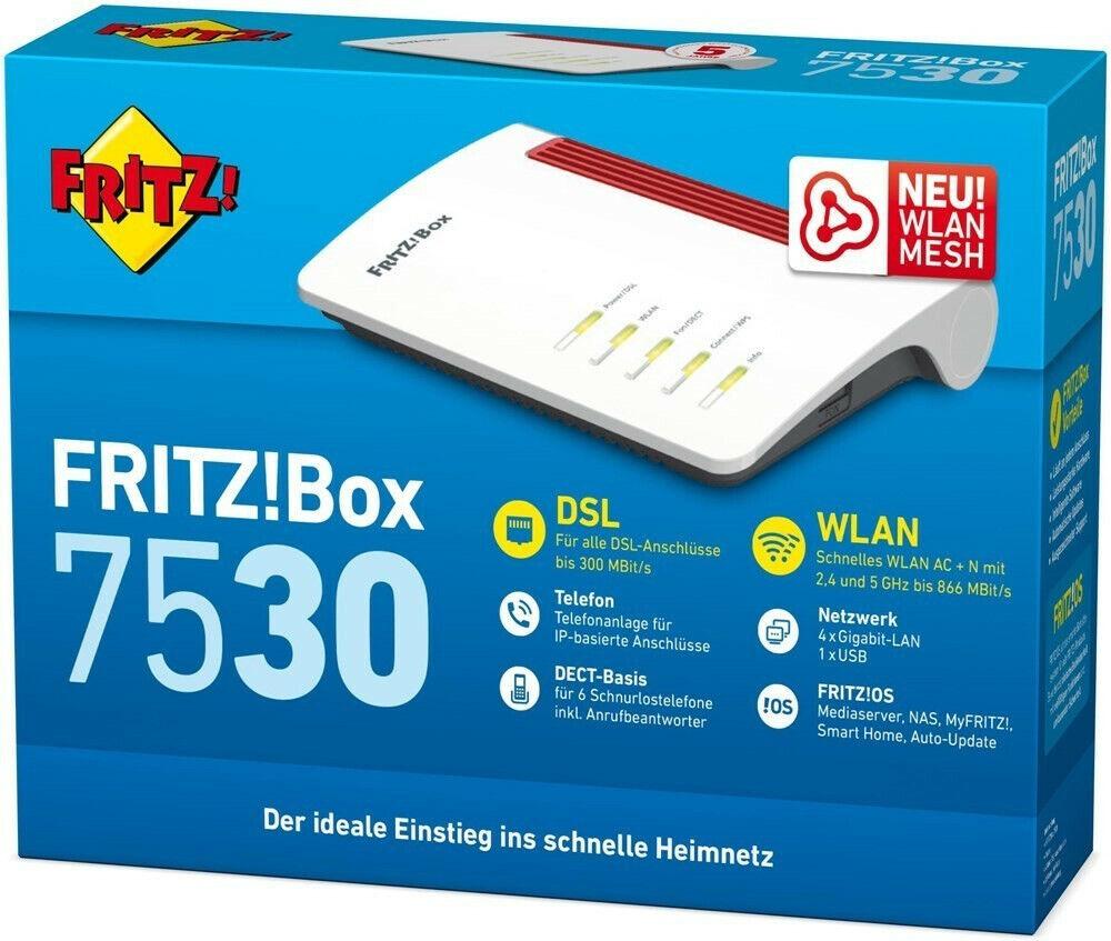 AVM FRITZBox 20 Dual Band WLAN Router mit Integriertes ...