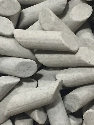 50Lb Ceramic Tumbling Media FINE Cylinder 3//8 x3//16 UMABRASIVES FREE SHIPPING