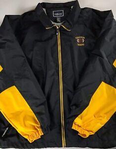 Central-Tigers-Jacket-Football-Mens-3XL-Lined-Windbreaker-High-School-Zip-Pocket