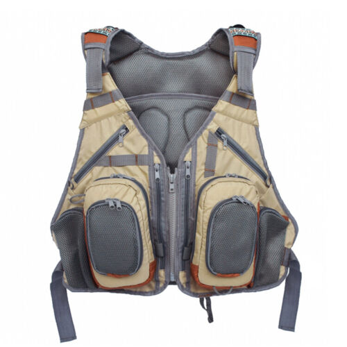 vest with attached backpack Fly Fishing Vest fishing vest,quality fishing vest