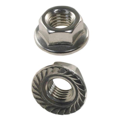 FABORY U55108.019.0001 Lock Nut,#10-24,Gr 316,SS,Plain,PK10